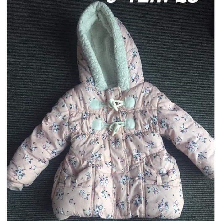 Girls coat 9-12m