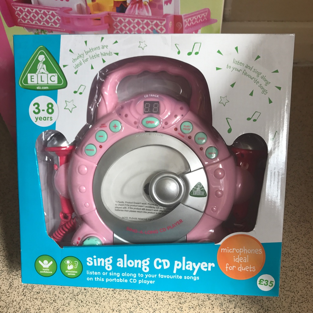 Sing along CD player