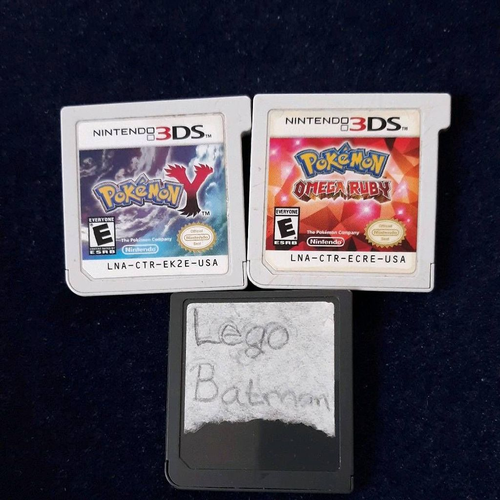 Pokémon Y/ Omega Ruby & Lego Batman