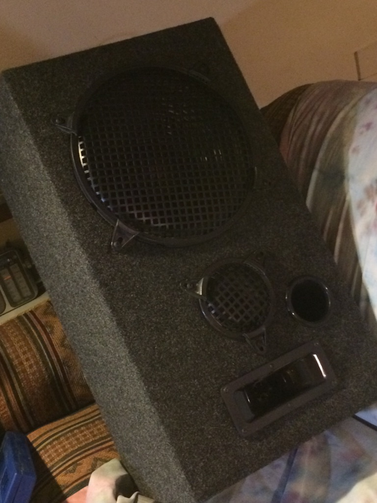 12 inch subwoofer - 5 inch mid