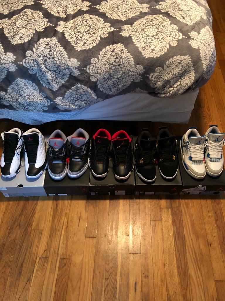 5 PAIRS OF AIR JORDAN RETRO 5 beSNEAKERS ALL IN LIKE NEW CONDITION