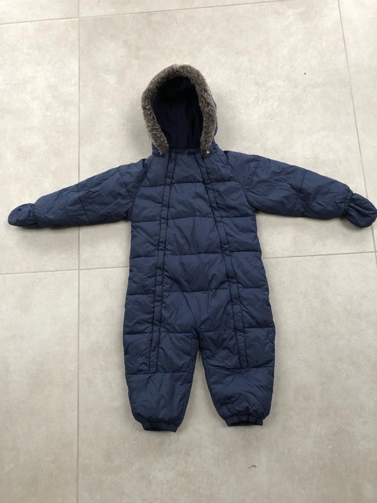John Lewis, boy snow suit, 18-24 months