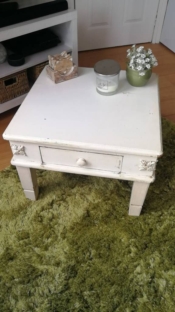 Shabby Chic Square Coffee Table