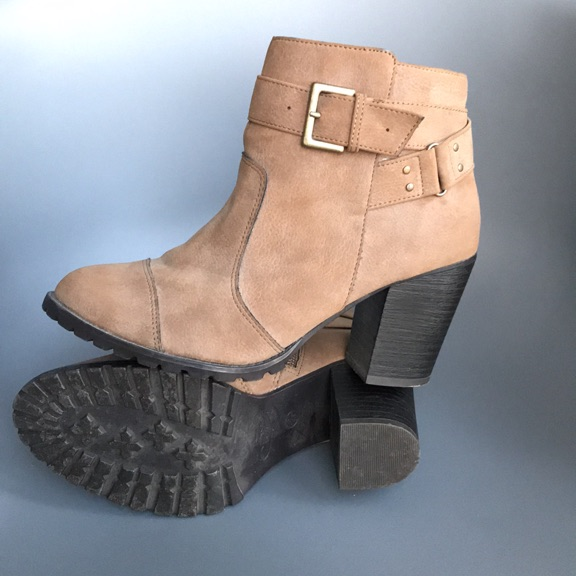 New look med tan ankle boots