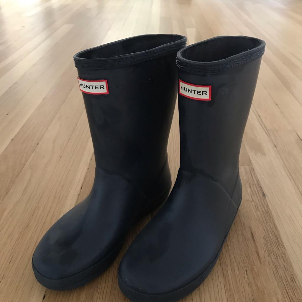 Hunter wellie boots