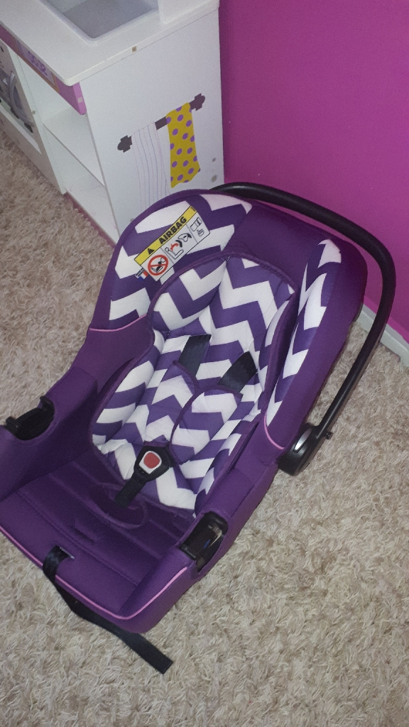 car seat and toddler bike 12inch