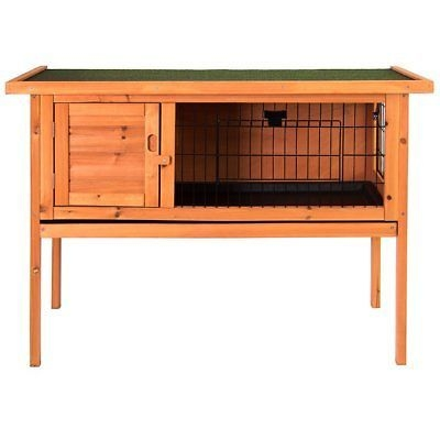 Petsuppliers Single Rabbit Hutch with Roof