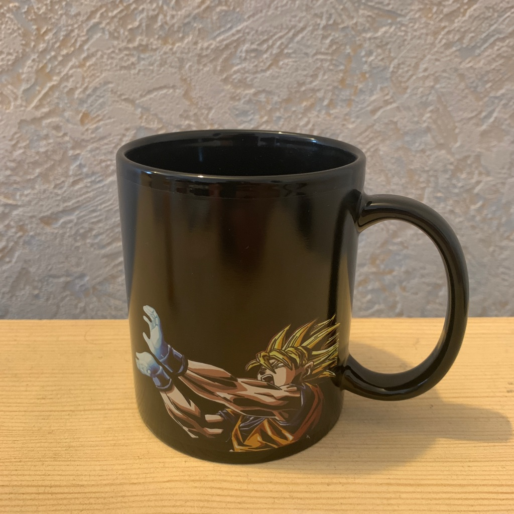 Dragon Ball Z Goku Kamehameha Heat Changing Ceramic Coffee Mug