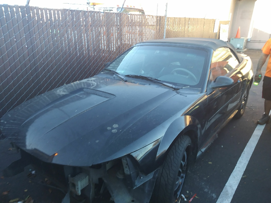Parting out a 99 mustang drop top