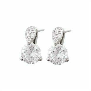 Diamondesque Diante Earrings