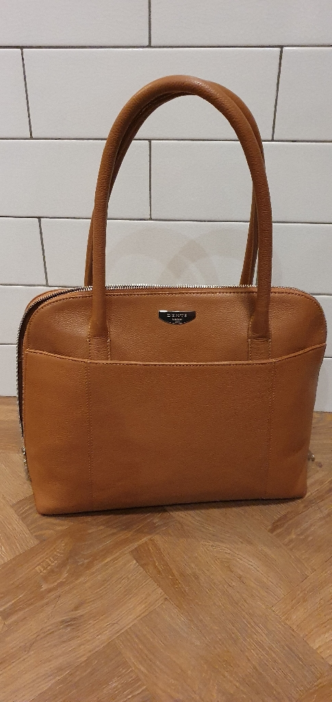 Dents leather handbag