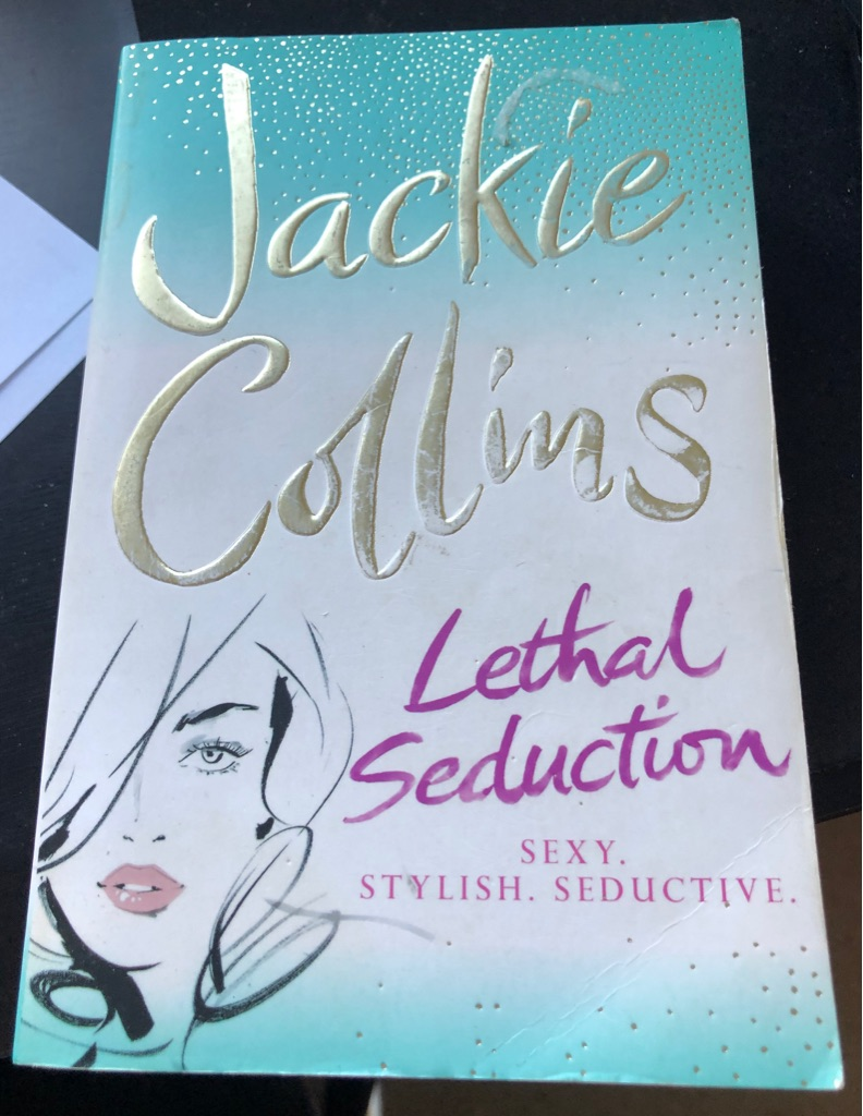 LETHAL SEDUCTION BY JACKIE COLLINS BOOK