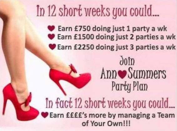 Ann Summers Ambassadors wanted