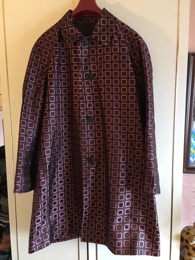 Prada men's silk coat