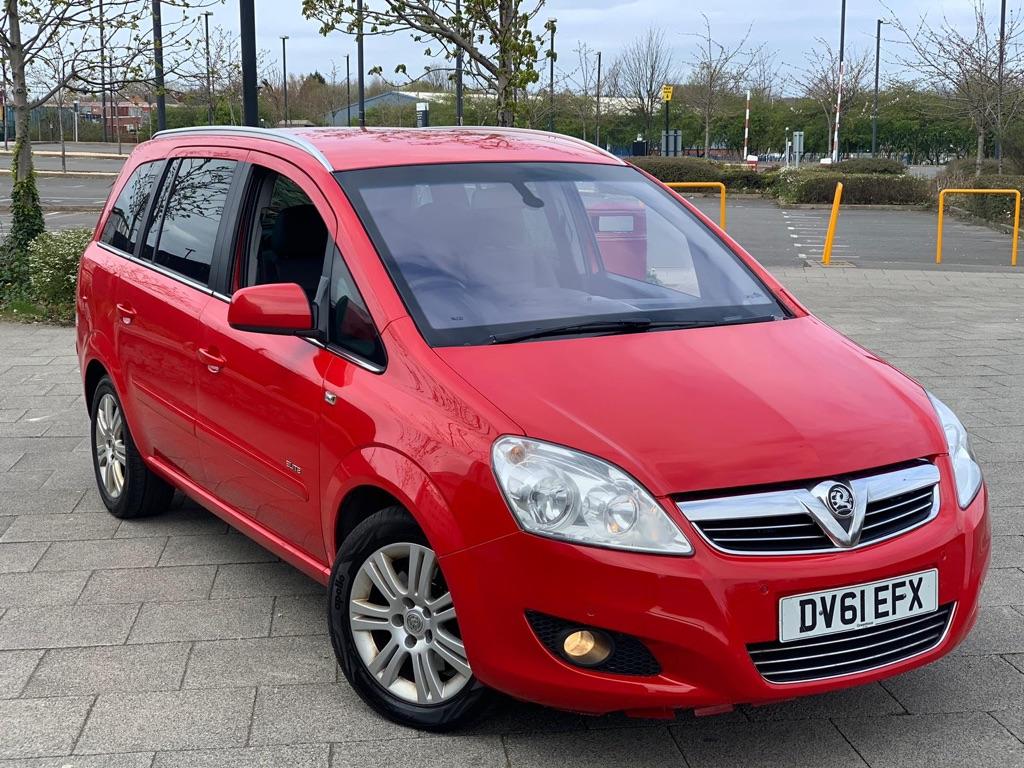Vauxhall Zafira 1.7L DIESEL MANUAL