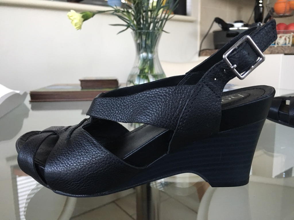 Hotter Wedge Sandals Size 3