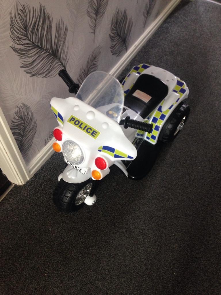 6v electric police bike