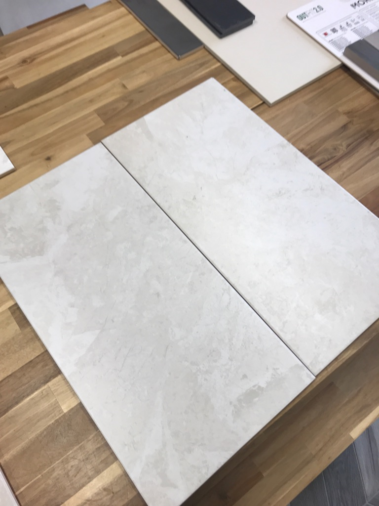 Ivory Marble ceramic WALL tiles 300x600mm £15m2-