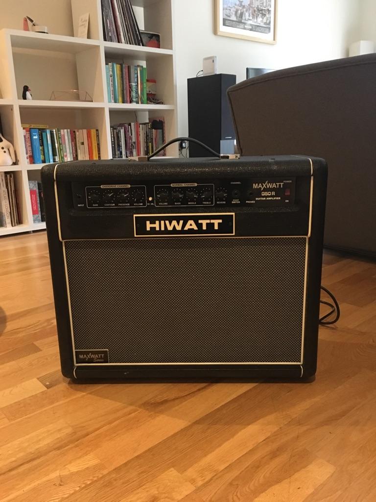 HIWATT G50R Guitar Amp