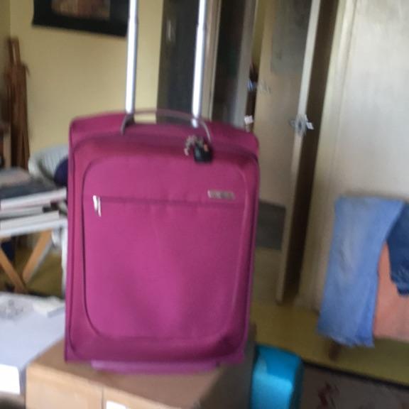 Samsonite cabin luggage.