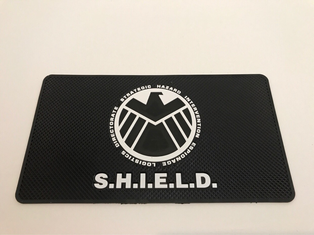 Car Non Slip Mats Gift SHIELD (Strategic Hazard Intervention Espionage Logistics Directorate) Agents Tuning Sport Audi Mercedes BMW Volkswagen Honda Ford Jaguar Mazda Mini Nissan