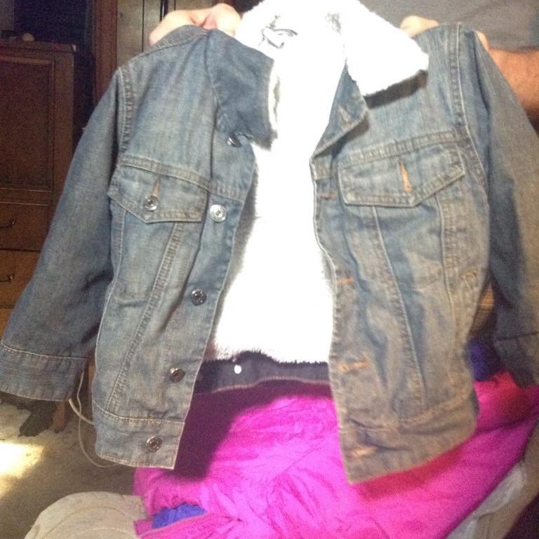 Boys denim gap jacket