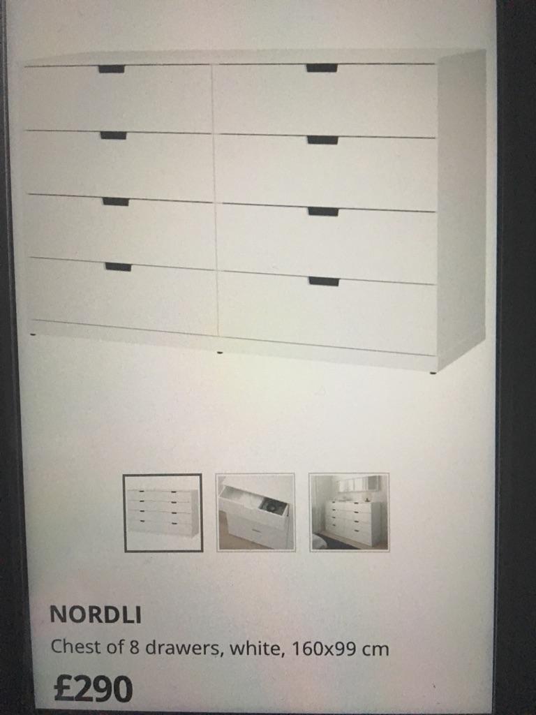 Ikea Nordli 8 Drawers