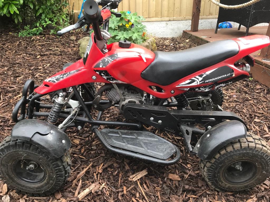 50cc petrol quad