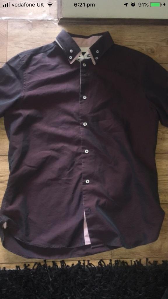 Next purple/ Black holographic Shirt