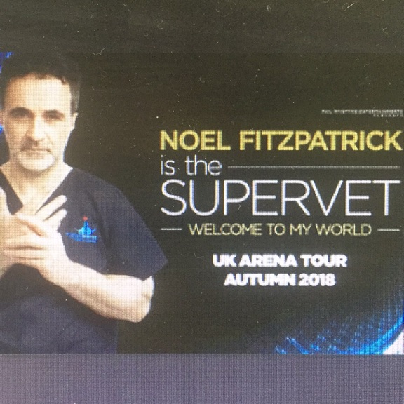 SUPERVET London - 3 x Tickets (Sunday 25th November 18)