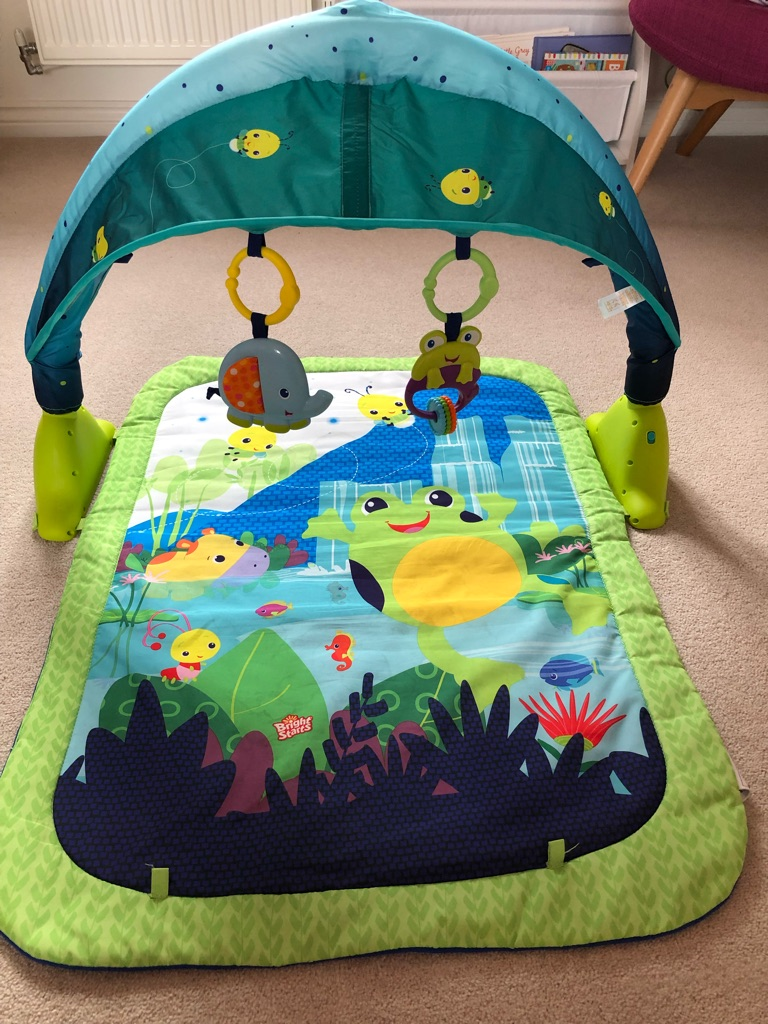 Bright starts lagoon play mat