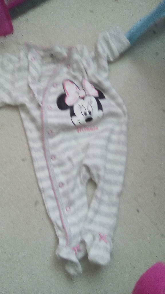 Minnie mouse baby grow