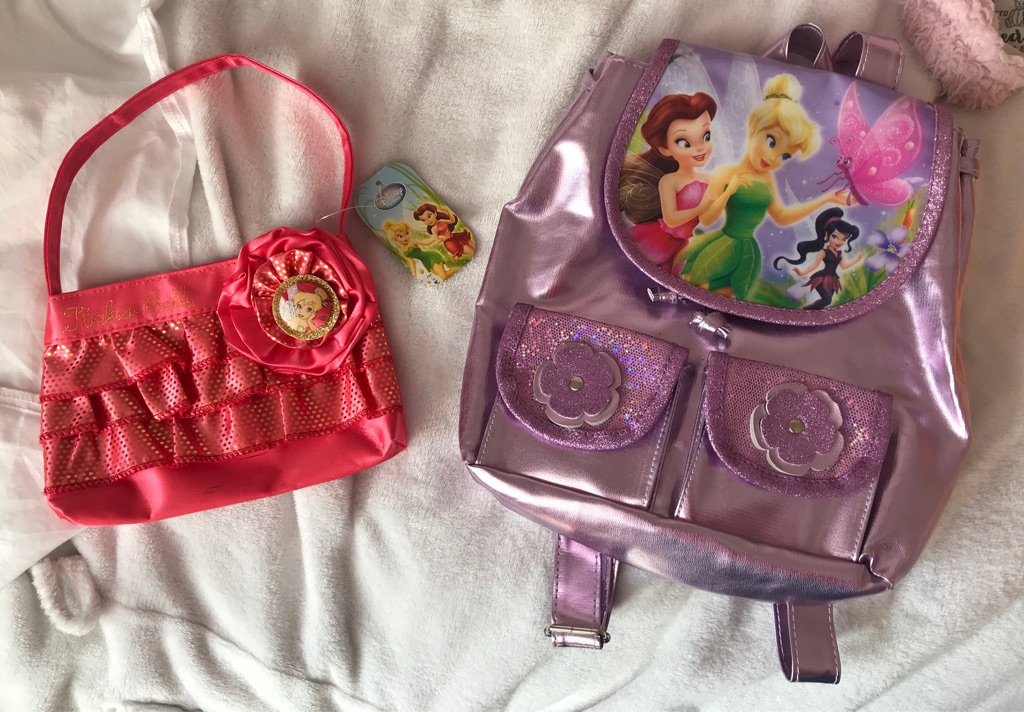 2 Tinker Bell Bags