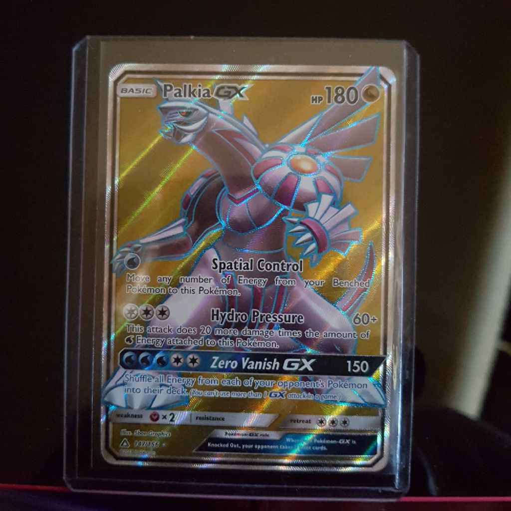 Palkia full art mint + 100 mixed bundle Pokemon cards