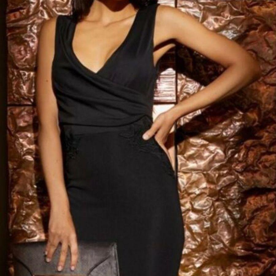 Lipsy black bodycon dress 10 BNWT