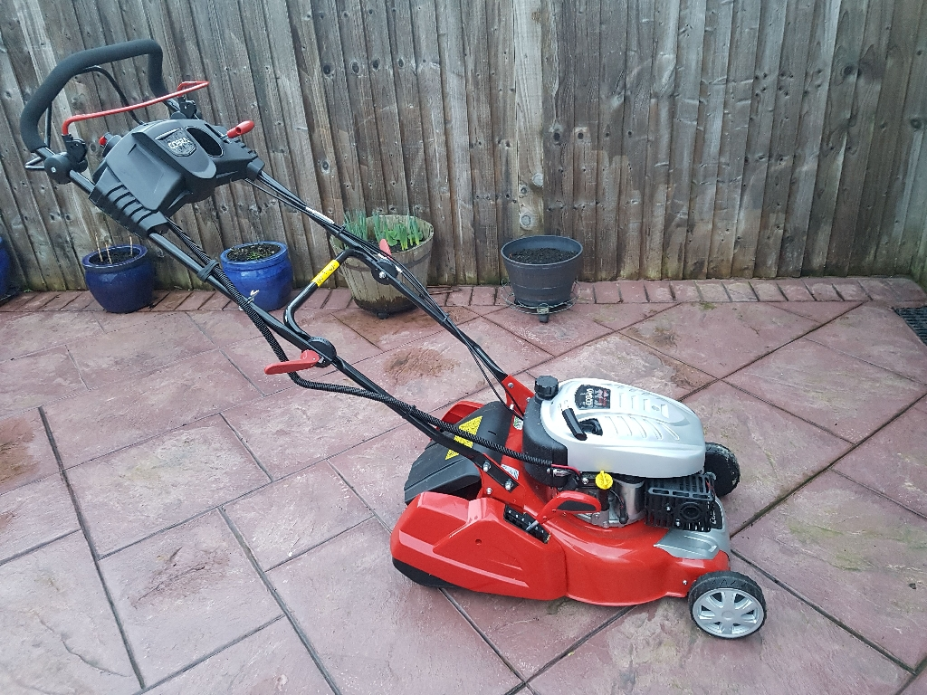 Cobra push button start petrol mower