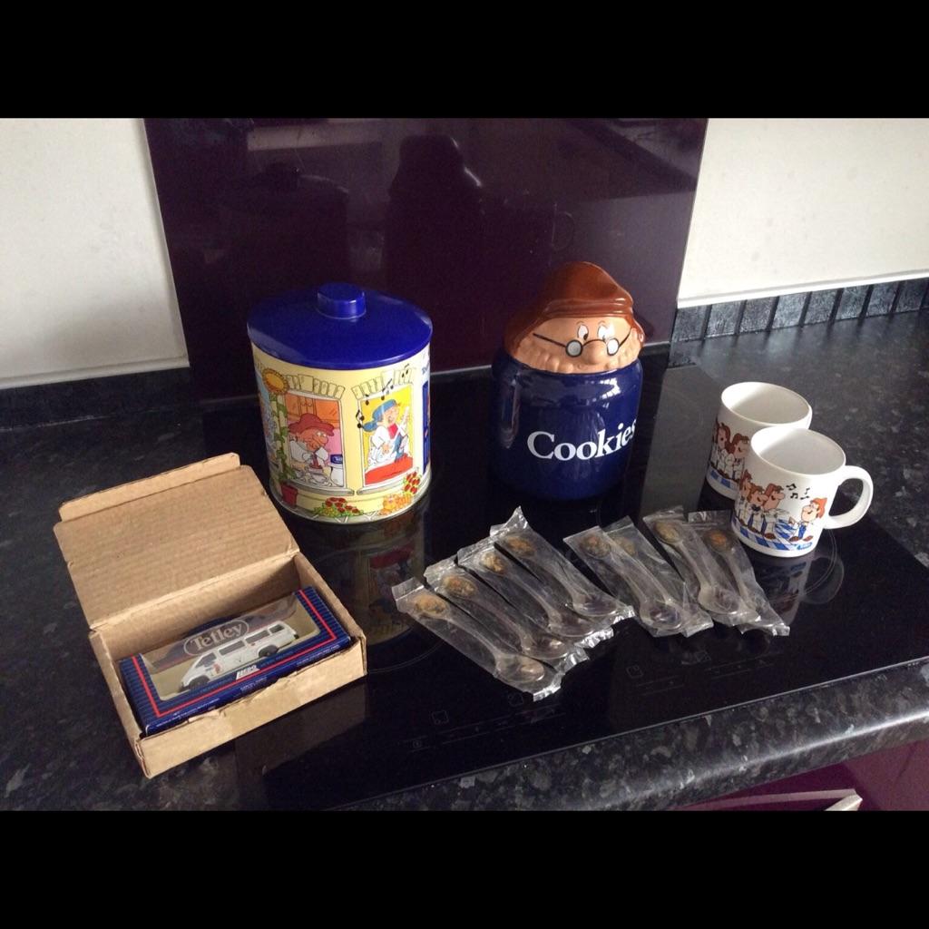 Tetley tea collectibles