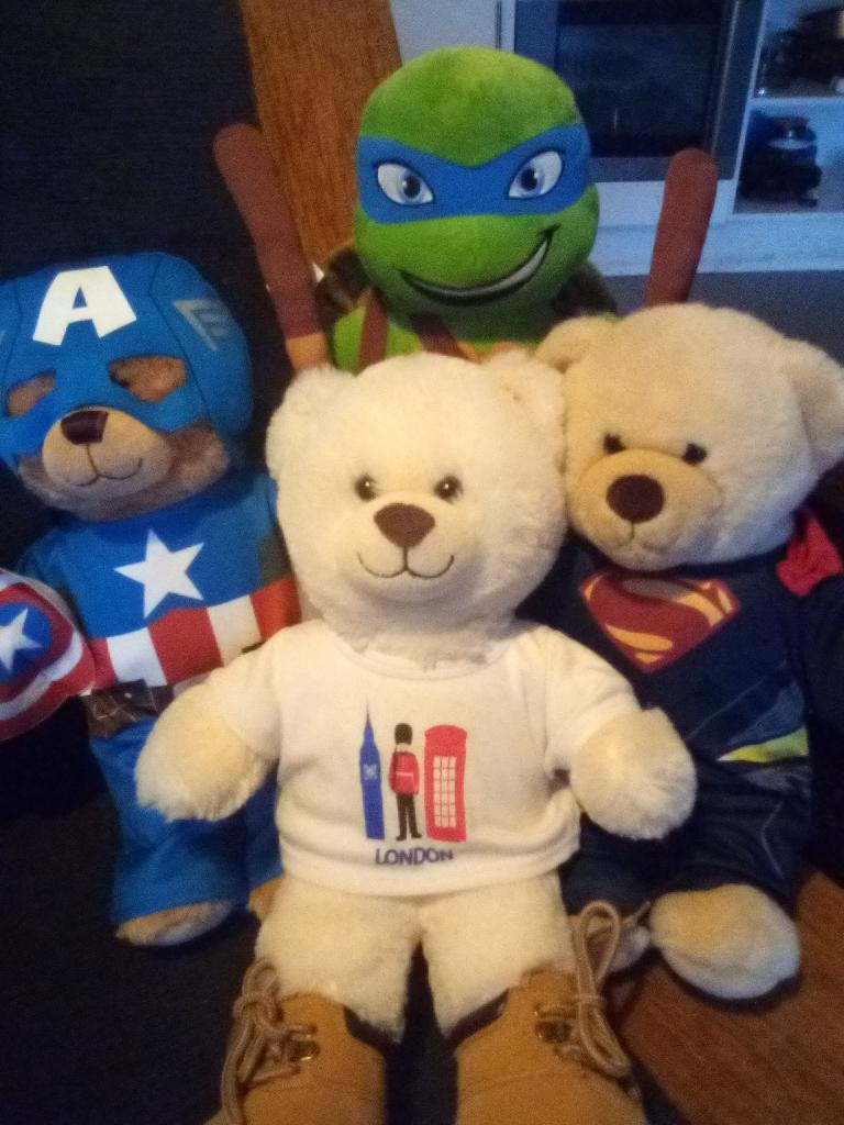 Build A Bear Hero Collection