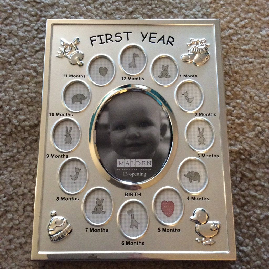 FIRST YEAR BABY FRAME