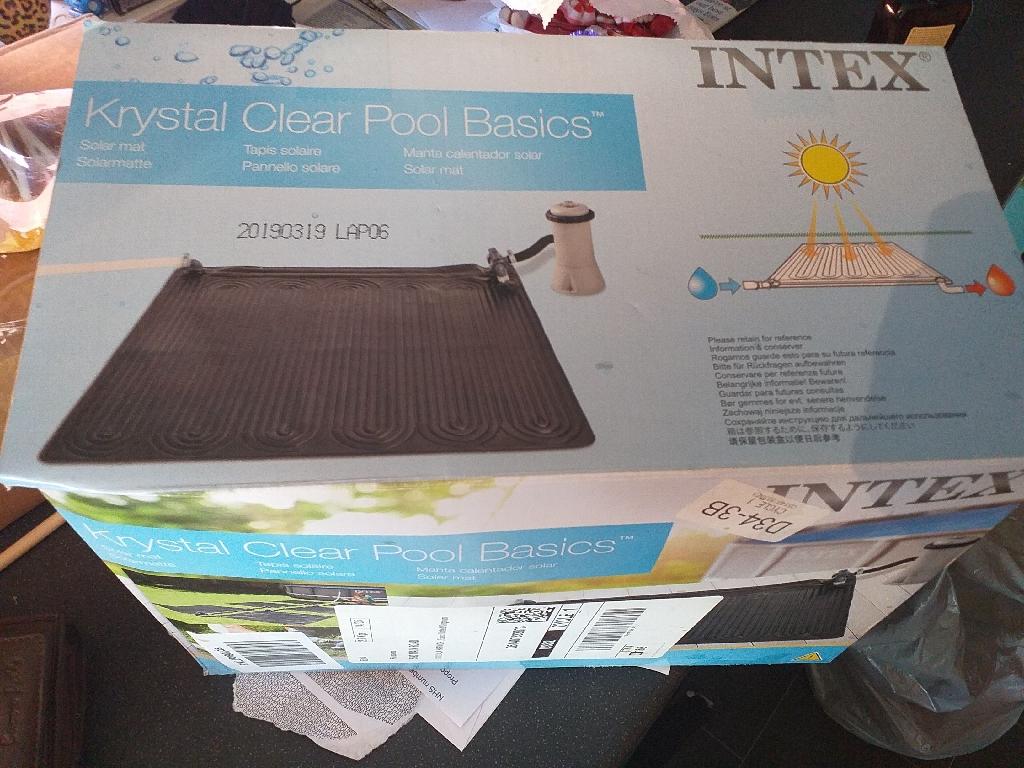 Solar pool heater brand new