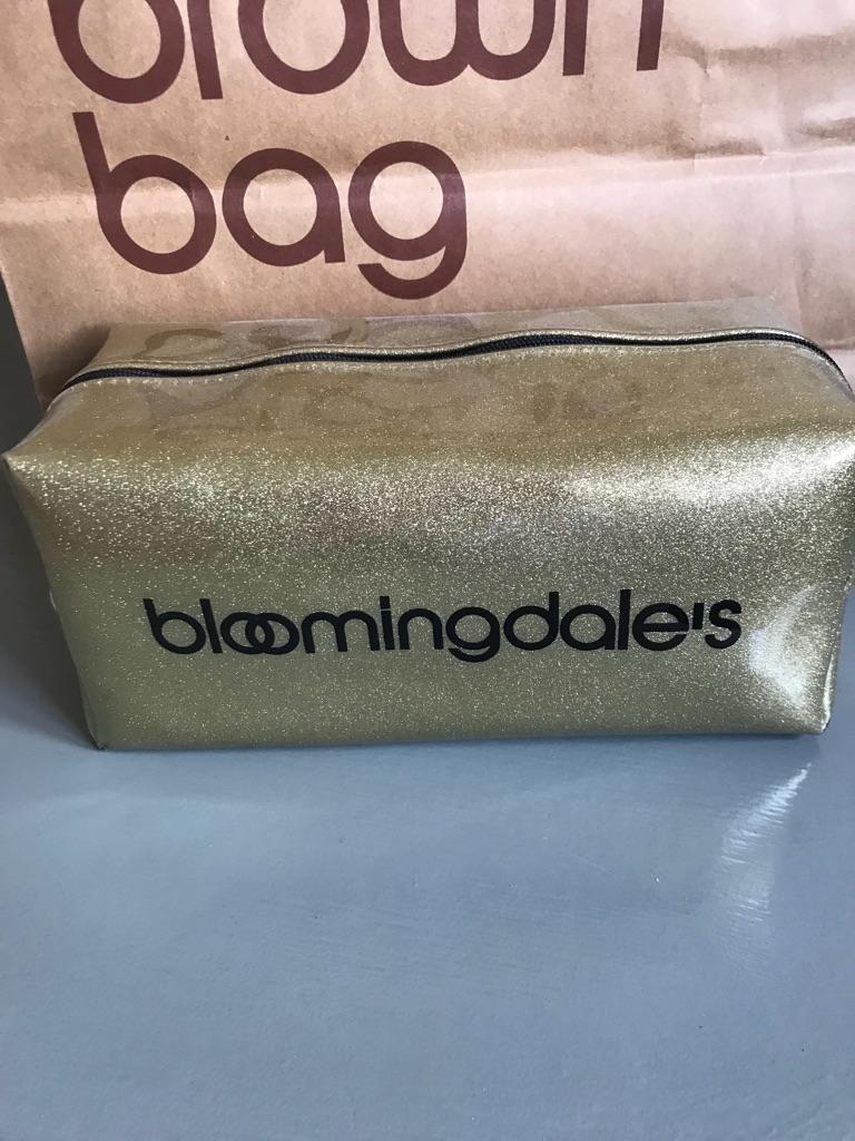 Bloomingdales cosmetic bag