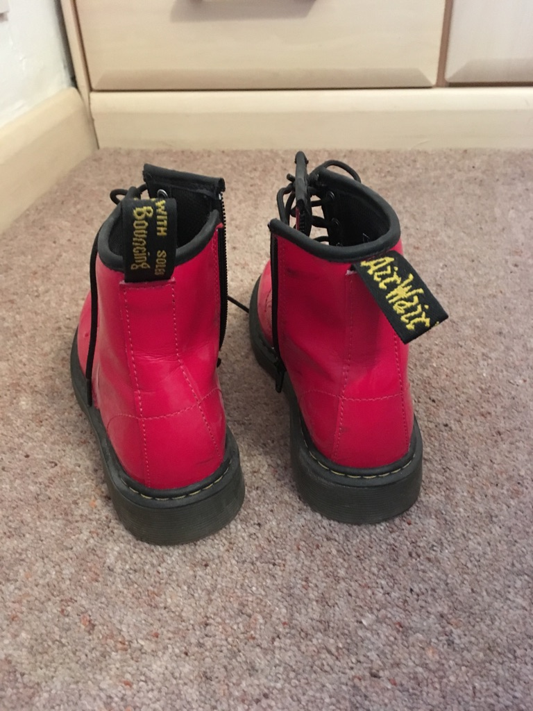 Dr Martens Boots girls Size 1