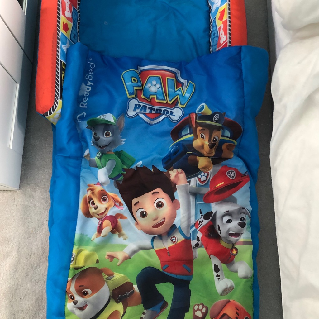 Paw Patrol themed Ready bed