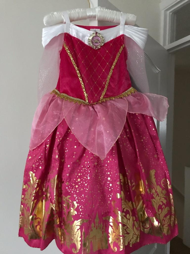 Disney Princess Aurora Dress - Brand New