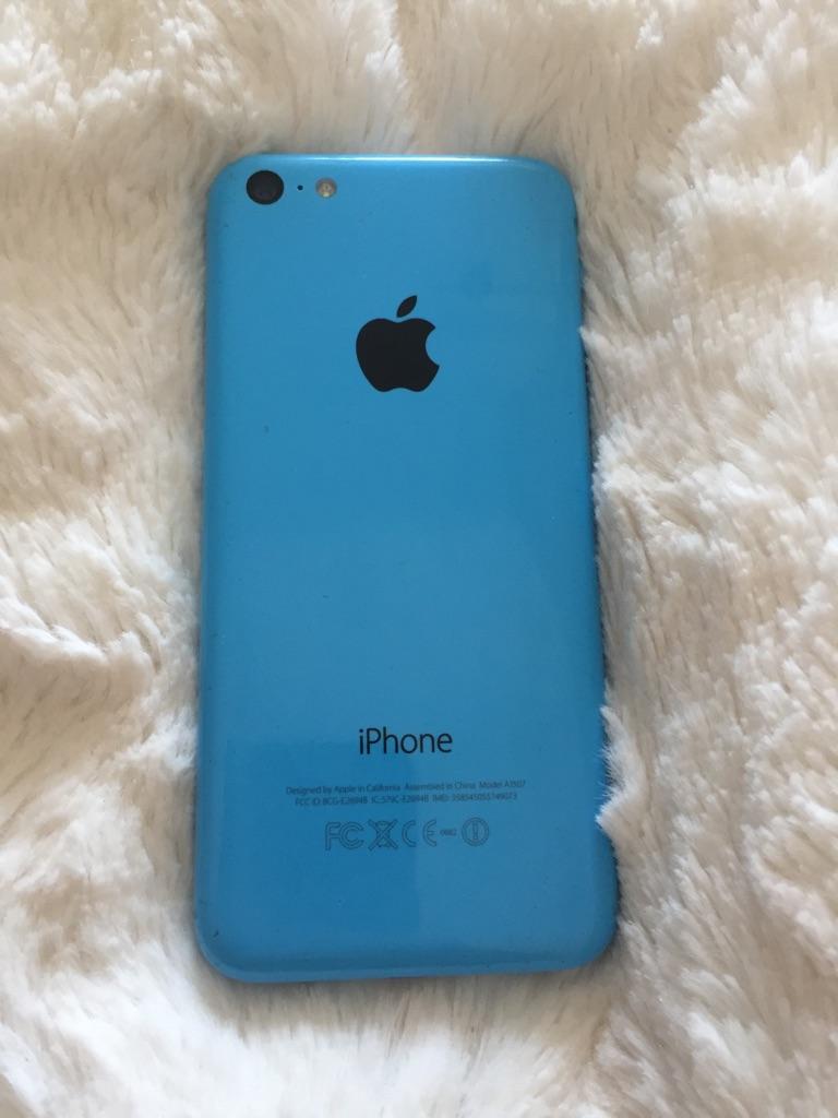 iPhone 5c 16gb unlocked blue very good condition