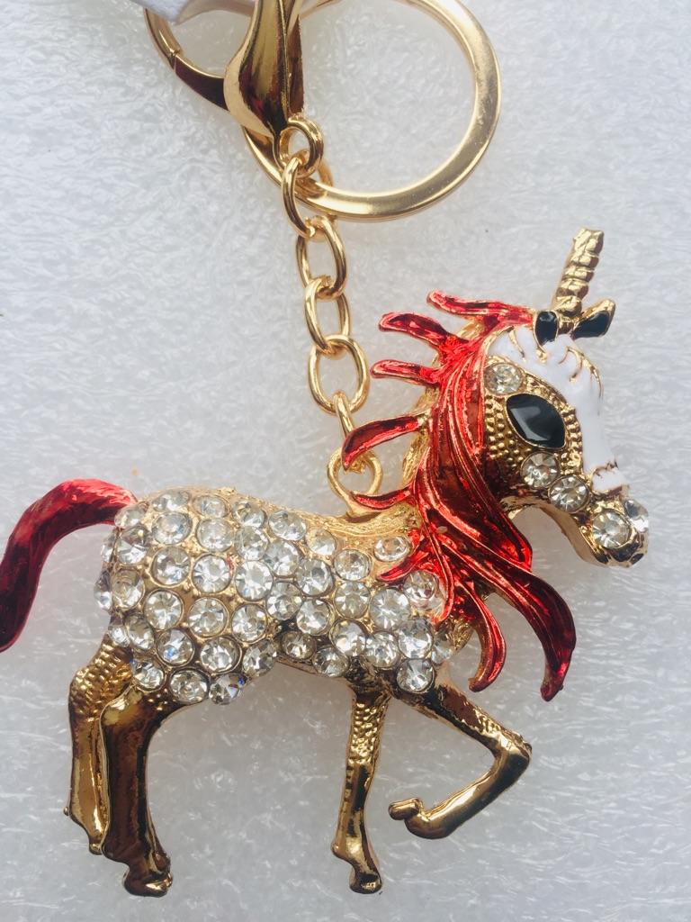 Keys ring holder with horse.### 4