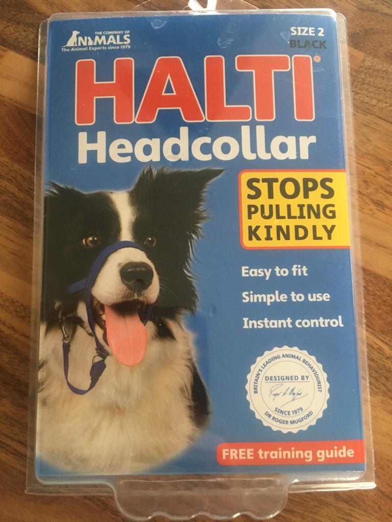 Halti headcollar