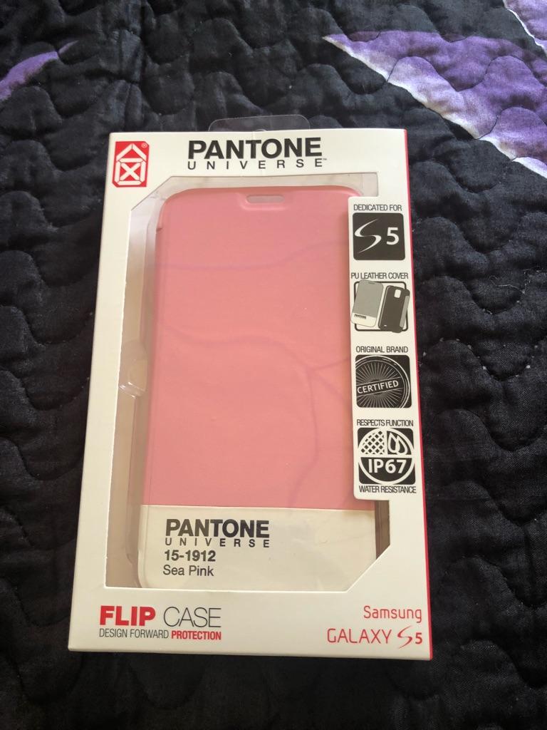 Pantone universe case pink Samsung s5