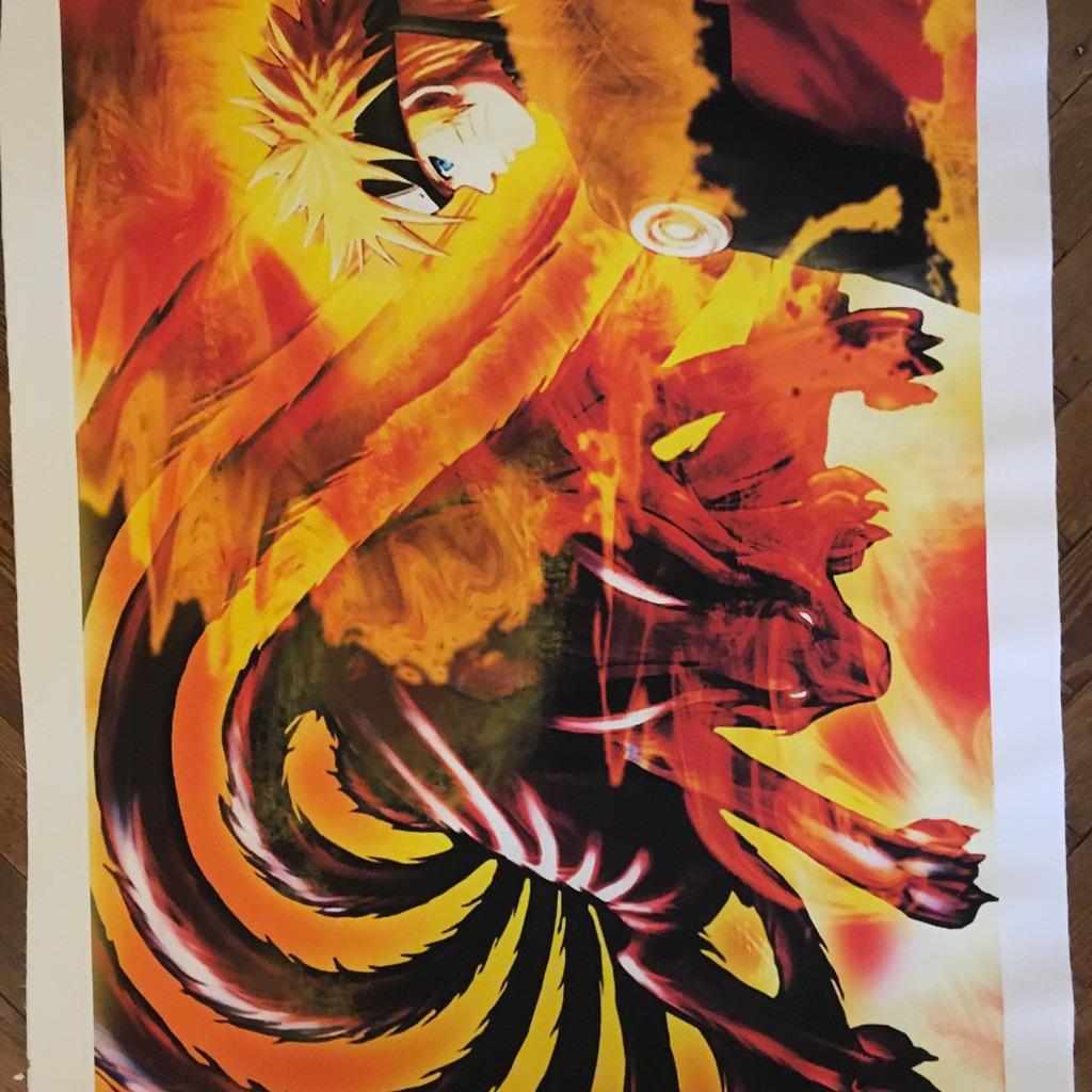 Naruto Unmounted Canvas