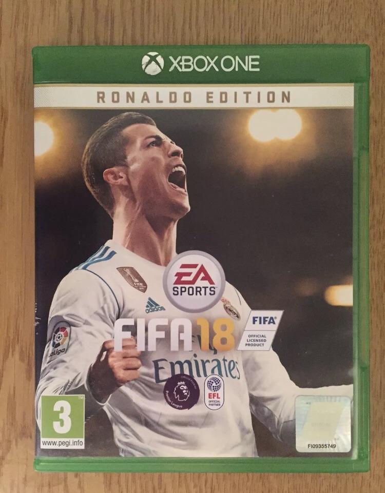 FIFA 18 ronaldo edition (Xbox one)